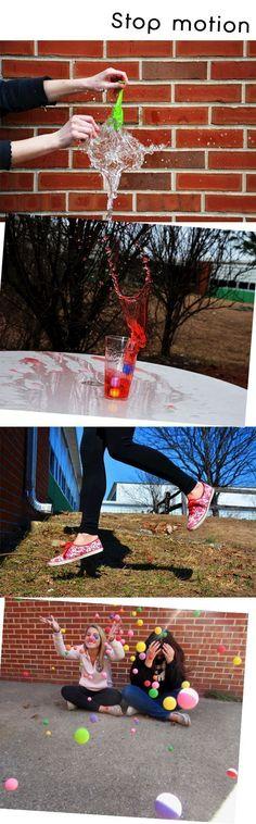 Stop motion// Shutter speed Digital Photography Lesson  http://www.refrigeratorgood.com/2014/10/digital-photography-lesson-abstract.html #photographylessons