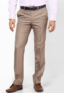 Stylish, Latest Fasionable & Well Designed Raymond Brown Contemporary Fit Formal Trouser men features product specifications, reviews, ratings, images, price chart and more to assist the user