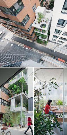 Vertical Garden House in Tokyo | Architect: Ryue Nishizawa
