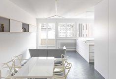 L'appartamento di 35 mq disegnato da studio Freaks Free Architects nel cuore di Ginevra