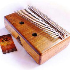 Kalimba Piano Ancestral 2 oitavas cromâtica