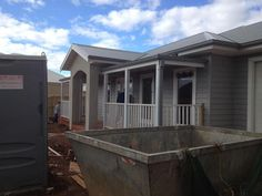 Shale Grey Render Surf Mist Roof Colour Story For New