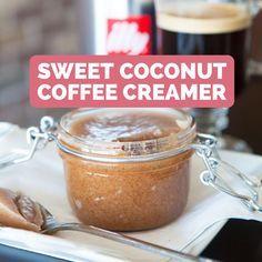 Coconut Oil Coffee Creamer