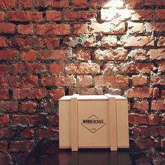 Something that would go well with the current minimalistic trend and industrial design trend. #wondercratemybigreveal #minimalistic #industrialdesign #wooden #crate #gift #present #surprise by wondercratemy