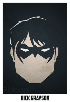 It says he's Dick Grayson but his full name is Richard Grayson is Nightwing.