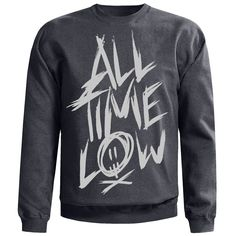 Scratch Crewneck Sweatshirt -All Time Low Merch
