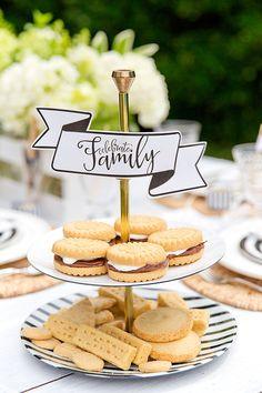 Celebrate Family + Delicious Shortbread S'mores