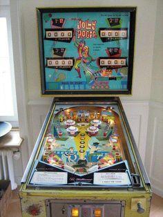 "1967 Jolly Rogers ""Williams"" Pinball Machine"