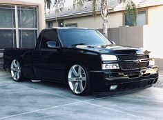 This one car is my most desired whip. So wonderful Chevy Trucks Lowered, Custom Chevy Trucks, Chevy Pickup Trucks, Chevy Pickups, Chevrolet Trucks, Chevrolet Silverado, Chevy S10, Lifted Trucks, Chevy Silverado Single Cab