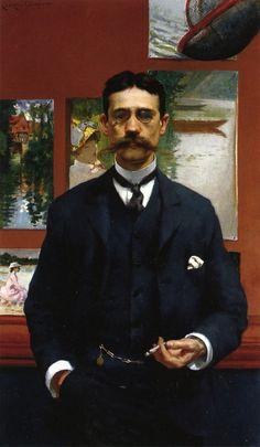 William Walton (1886), James Carroll Beckwith.  19th Century Boyfriend