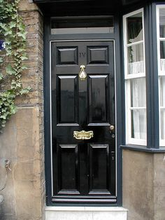 Black Door in London & London Doors Front Door Regency Door | front doors | Pinterest ... pezcame.com
