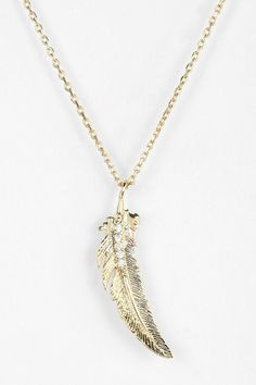 Falling Feather Necklace #urbanoutfitters