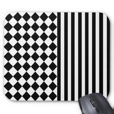 Halloween mix pattern mouse pad - stripes gifts cyo unique style