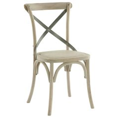 """<i>The perfect cane chair with a unique metal back strape adds the perfect amount of character to a timeless chair.  There are two chairs included for the price shown.</i><br><br><b><center>Click for Enlarged View</center></b><a href=""""http://www.shopcandelabra.com/as-seen-in/CoastalLiving-14406+11138.jpg"""" target=""""_blank""""><img src=""""http://www.shopcandelabra.com/as-seen-in/CoastalLiving-14406+11138.jpg"""" width=""""325"""" height=""""222"""" alt=""""Aidan Gray Kason Side Chair-Set of 2""""></a>"""
