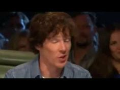 """Top Gear Benedict Cumberbatch Interview. Benedict Cumberbatch.  Watching Top Gear: my dad said """"what's his last name? Camelback?"""" I almost died choking on my water."""