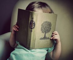 Engrossed Young Reader