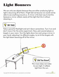 Primaryleap Co Uk Light And Shadow Worksheet Light And