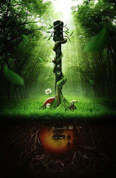 Sounds of Nature Case Study   Abduzeedo   Graphic Design Inspiration and Photoshop Tutorials