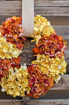 DIY - Maak zelf een herfstkrans