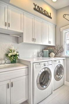 Inspiring Remarkable Laundry Room Layout Ideas for The Perfect Home Drop Zon. Inspiring Remarkable Laundry Room Layout Ideas for The Perfect Home Drop Zones Mudroom Laundry Room, Laundry Room Layouts, Laundry Room Remodel, Laundry Room Cabinets, Farmhouse Laundry Room, Small Laundry Rooms, Laundry Room Organization, Laundry Room Design, Diy Cabinets