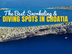 Croatia has some of the finest beaches in the world. So, let us tell you the best places for diving and snorkeling in Croatia! Croatia Airlines, Croatia Tourism, Croatia Travel Guide, Best Snorkeling, Visit Croatia, Snorkelling, Beaches In The World, Travel And Leisure, Where To Go