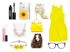 """Sunshine"" by angsat on Polyvore featuring beauty, Jerome C. Rousseau, Emilia Wickstead, Dolce&Gabbana, J.Crew, Chico's and Edward Bess"