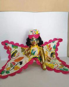 Bal Krishna, Cute Krishna, Shree Krishna, Krishna Art, Radhe Krishna, Lord Krishna, Laddu Gopal Dresses, Navratri Dress, Bal Gopal