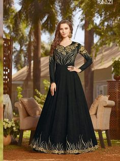 RAMA D.NO.-20029 RATE : 2395 - RAMA FASHION RAAZI VOL 8  RAMA 20025-20032 SERIES  GEORGETTE EMBROIDERED TRADITIONAL OCCASIONALLY FASHION PARTY WEDDING WEAR INDIAN WOMEN FASHION ANARKALI DRESS AT WHOLESALE PRICE AT DSTYLE ICON FASHION CONTACT: +917698955723 - DStyle Icon Fashion