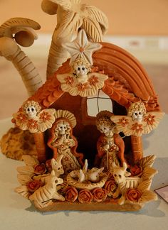 Skeleton Nativity Nacimiento Mexico by Teyacapan, via Flickr