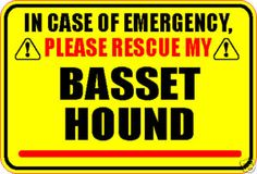 Definitely a smart reminder sign to put on the outside of your front door. We have one on ours that have the # of dogs and an emergency contact if we cannot be reached.