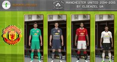 PES 2014 Manchester United 2014-2015 Forma – Kit GDB