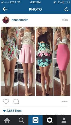 Do you girls like these looks Los Angeles based company Fast shipping Spring Outfits, Trendy Outfits, Girl Outfits, Fashion Outfits, Style Fashion, Cute Dresses, Casual Dresses, Style Feminin, Teen Fashion
