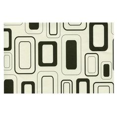 East Urban Home Heidi Jennings 'Cubes For Days' Neutral Doormat