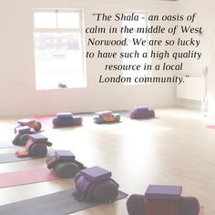 yoga & pilates in south london  A sanctuary for self nurture, growth and healing in South London, the Shala is a well established yoga centre with a reputation for exceptional teaching. For nearly 20-years, our focus has been on enhancing well-being through yoga, Pilates, mind-body workshops and complimentary therapies.