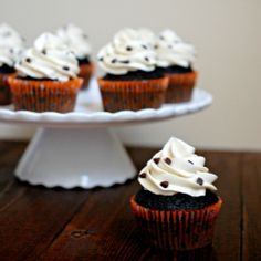 Can't get enough cookie dough? Then this cookie dough stuffed dark chocolate cupcake with cookie dough buttercream should hit the spot!