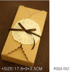 Cartulina caja Caixa Macaron embalaje Kraft papel por yanfengpaint