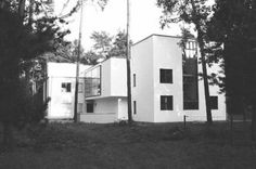 Bauhaus Masters' Houses, Dessau, Germany Architect: Walter Gropius, 1925-6