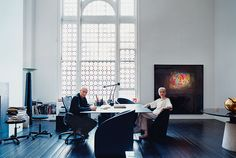 Cross-Media Impresarios Massimo and Lella Vignelli - Design 2007 -- New York Magazine