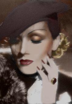 Marlene Dietrich c. 1936