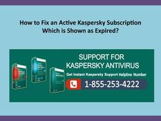 In this presentation How to fix an active Kaspersky subscription which is shown as expired? If you have any issue regarding your Kaspersky antivirus software so feel free to contact our Kaspersky experts is here to resolve your issue. Antivirus Software, Presentation, Canada, Feelings
