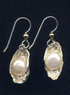 Pearls in Silver Clay