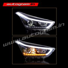 Buy Our Hyundai Creta, DRL, AES 55 watt, XENON HID Projector Headlights. These Headlights are Durable & exclusively designed by understanding & keeping weather & road conditions in mind.
