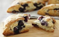 Blueberry Scones from America's Test Kitchen (recipe http://www.cooksillustrated.com/recipes/login.asp?docid=8545)