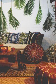 35 ideas for apartment living room decor renting texture Bohemian Interior, Home Interior, Bohemian Decor, Interior Livingroom, Scandinavian Interior, Interior Paint, Interior Styling, Interior Architecture, Interior Decorating