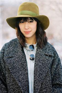 New York Fashion Week AW 2013....Rachel