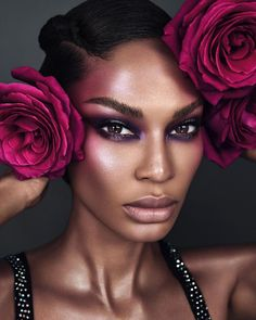 Huda Beauty, Beauty Makeup, Hair Makeup, Glamour Makeup, Photoshoot Makeup, Joan Smalls, Models Makeup, Beauty Shots, Hair Studio