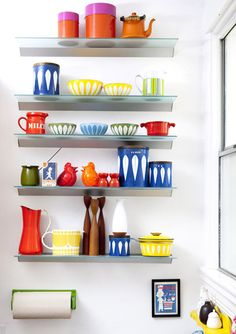 lovely lovely kitchen ware, from lisa cogdon's collection.