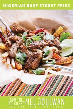 Paleo Nigerian Beef Street Fries from Well Fed Weeknights via @meljoulwan
