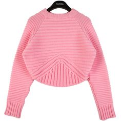 Ribbed Knit Crop Pullover | FashionShop【STYLENANDA】