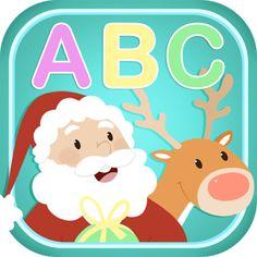 Descubre las letras e iniciales de los divertidos personajes navideños